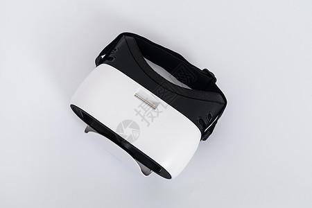 白色VR眼镜俯视产品图图片