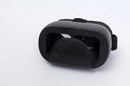 黑色VR眼镜正面拍摄图片