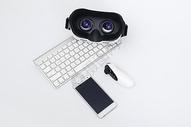 VR眼镜键盘手机遥控器图片