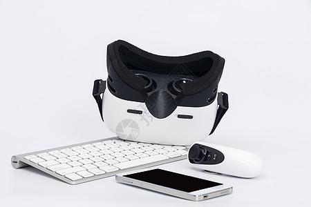 VR眼镜底部拍摄遥控器图片