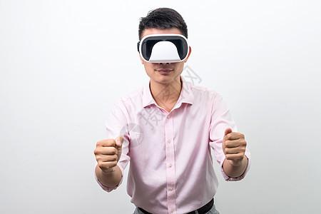 虚拟现实VR开车动作图片