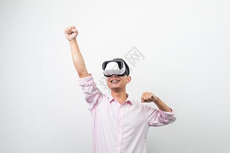 VR虚拟现实超人造型图片