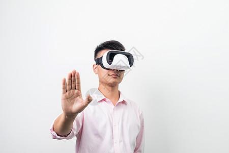 VR探索虚拟世界商务造型图片