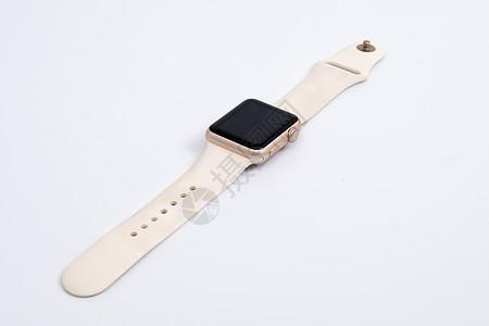 白色智能手表图片