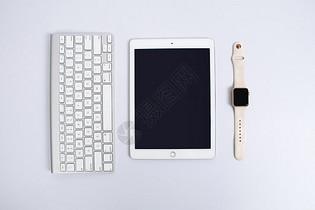 苹果键盘平板电脑智能手表图片