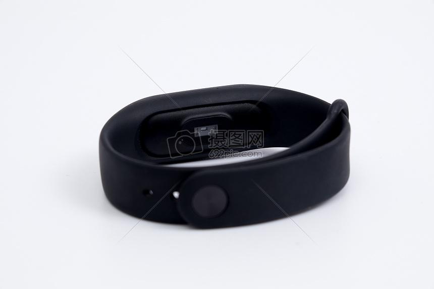 黑色运动手环图片