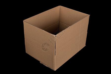 物流快递盒子打开结构图片