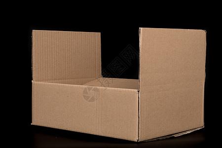 物流快递纸质盒子打开图片