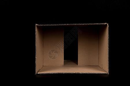 物流快递盒子打开内部结构图片