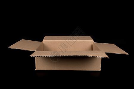 物流快递纸质盒子打开结构图片