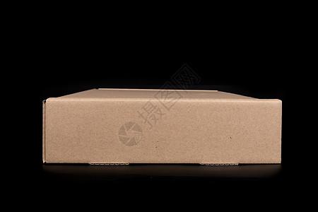 物流快递纸质盒子横放图片