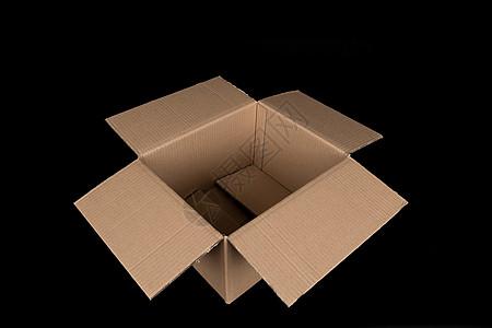 物流快递盒子打开底部结构图片