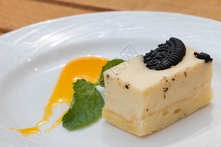柠檬塔蛋糕图片