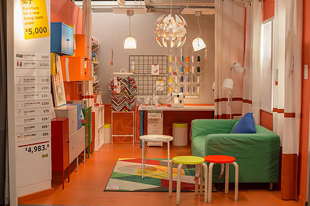 清新文艺家具彩色椅子沙发图片