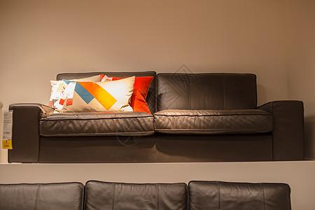 清新文艺家具沙发抱枕图片
