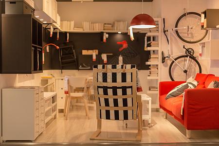 清新文艺家具沙发椅子图片