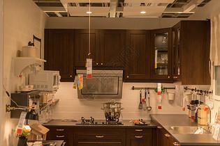 清新文艺家具厨房设计图片