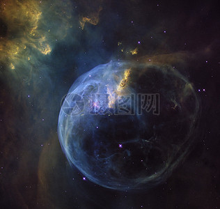 狼蛛星云图片