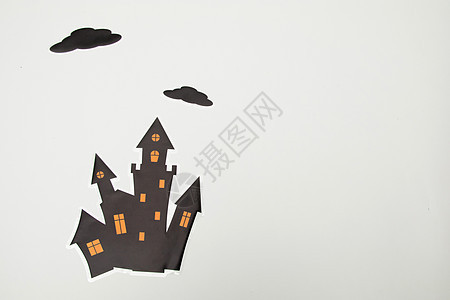 城堡卡通插画图片