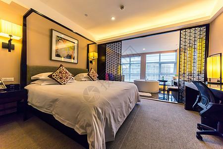 酒店房间环境图片