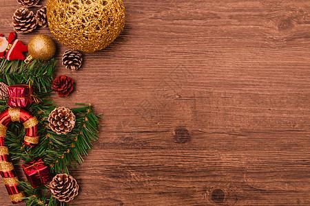 圣诞节可爱喜庆背景底图图片