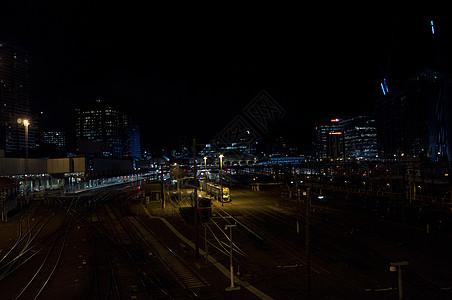 墨尔本火车图片