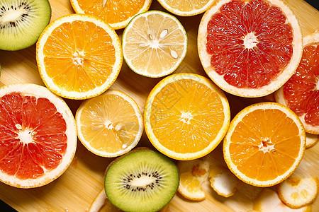 新鲜水果橙子柠檬西柚picture