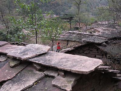 太行山大峡谷写生图片