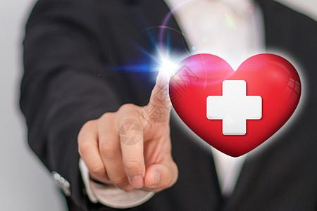 爱心和医疗图片