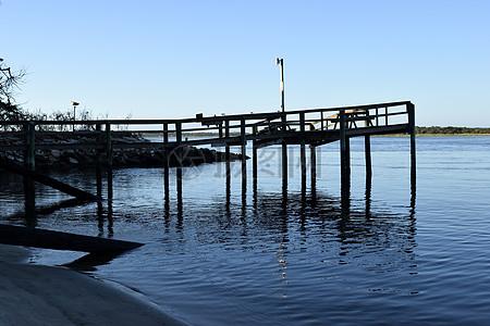 海边的观景台图片