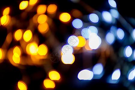霓虹灯创意灯光虚化背景图片