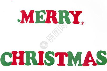 圣诞节字母背景素材图片