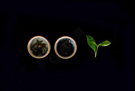 茶叶创意拍摄图片