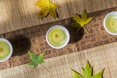 秋茶.养生图片