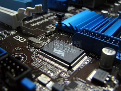 计算机电路板高清图片