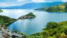 云南泸沽湖图片