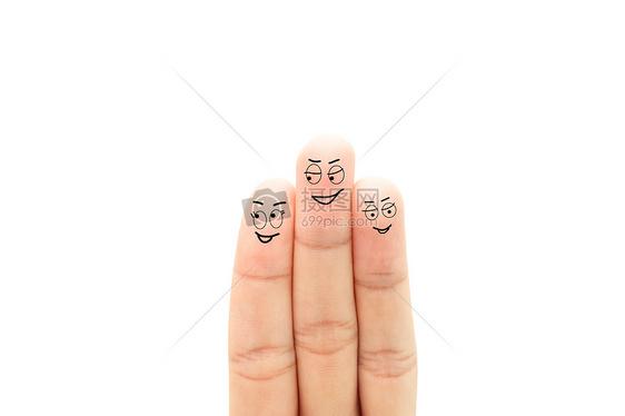 创意手指画手指表情图片素材_免费下载_jpg图片格式