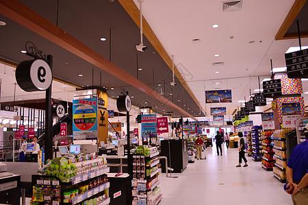 超市柜台超市货架图片