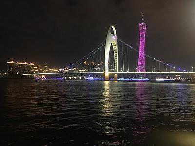 广州地标猎德大桥图片