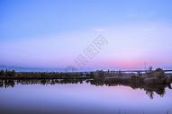 秋日夕阳图片