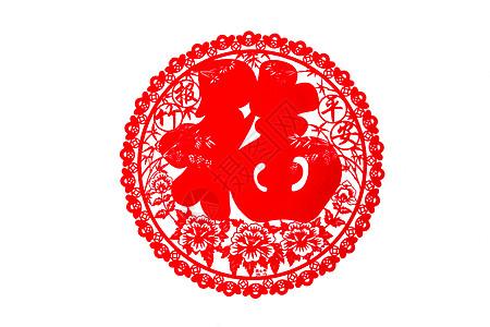 中国春节福字贴纸图片