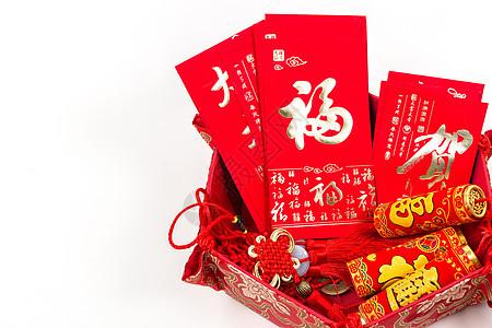 中国春节手工饰品排列图片