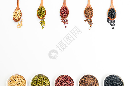 五谷杂粮豆子薏米图片
