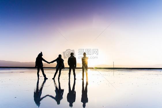 天空之境_茶卡盐湖图片