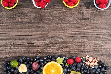 水果大杂烩背景图片