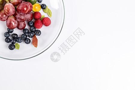 水果拼盘摆拍图片