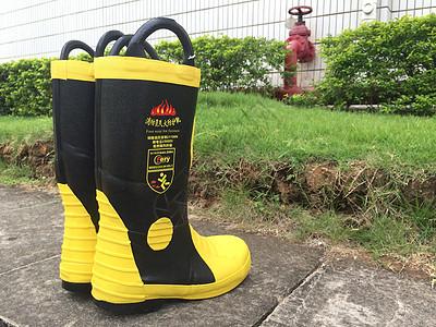 消防靴图片