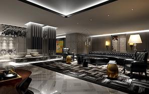 现代风格售楼处效果图图片