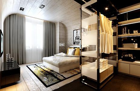 欧式卧室装修效果图图片