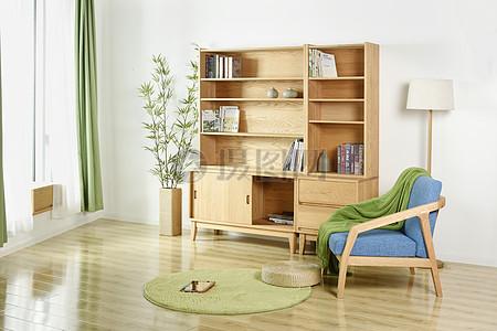 简约风格家具家私沙发柜子茶几书柜图片